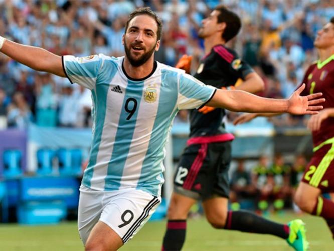 argentina 4 venezuela 1 2016