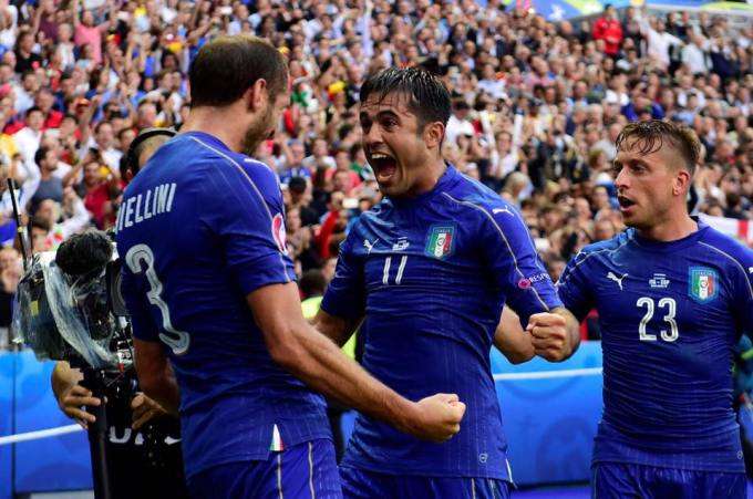 ITALIA 2 ESPAÑA 0 2016 EUROCOPA