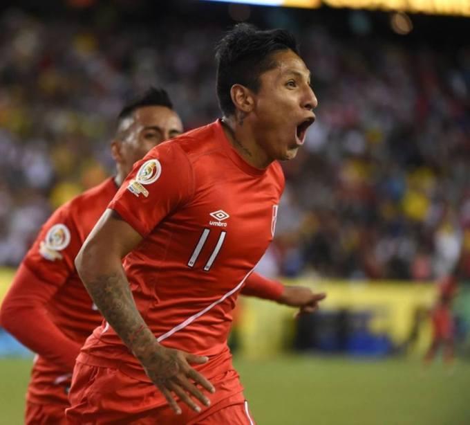 PERU 1 Brasil 0 copa america 2016