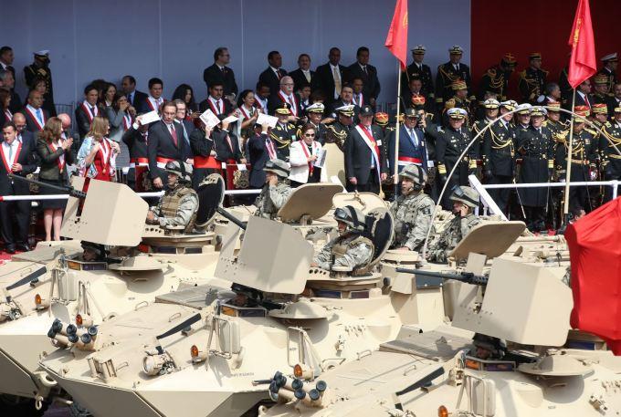 DESFILE MILITAR PERU 2016