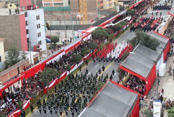 DESFILE Y GRAN PARADA MILITAR PERU 2016 (16)