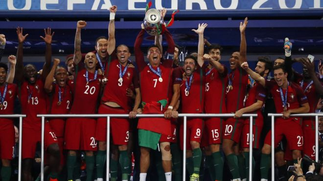 PORTUGAL CAMPEON 2016