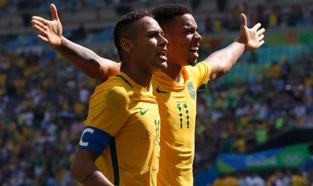 brasil 6 honduras 0 rio 2016