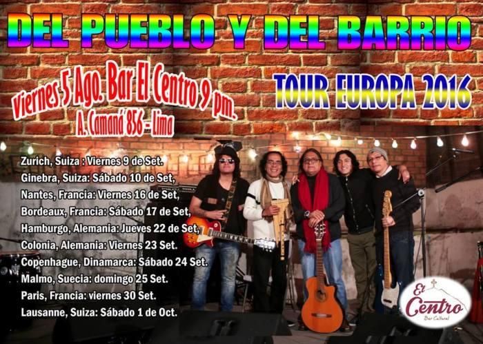 DEL PUEBLO DEL BARRIO TOUR