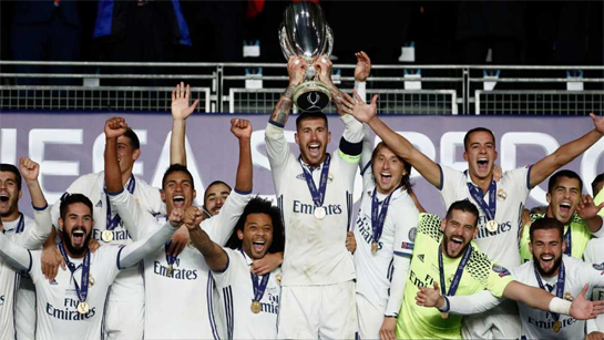 REAL MADRID CAMPEON SUPERCOPA 2016