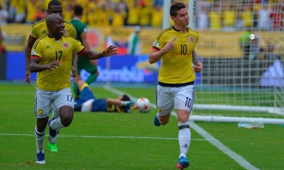 colombia bolivia 2017