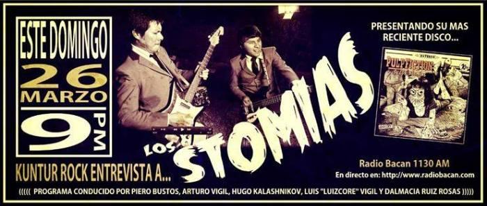 LOS STOMIAS KUNTUR ROCK