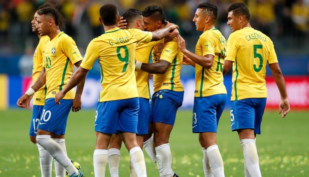 BRASIL ECUADOR 2017