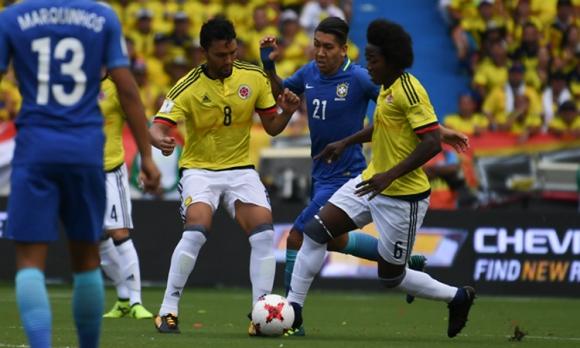 colombia brasil 2017