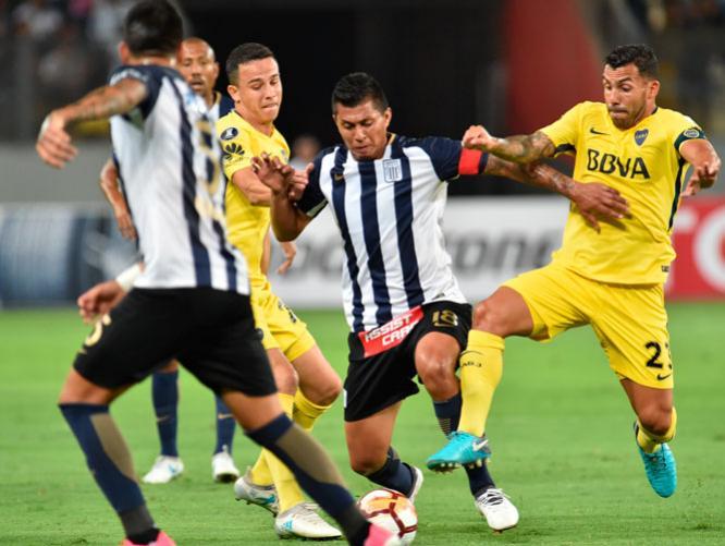 alianza lima boca juniors 2018
