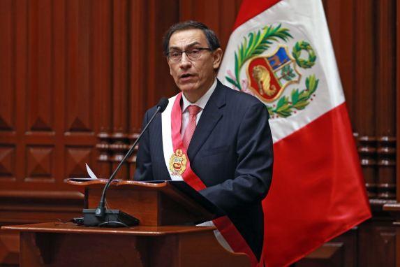 MARTIN VIZCARRA PRESIDENTE DEL PERU
