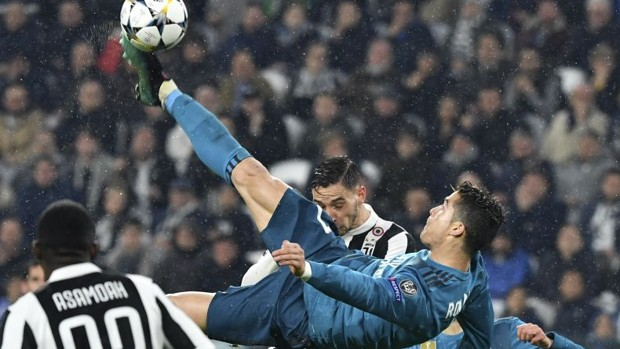juventus real madrid ronaldo