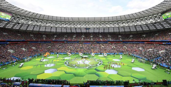 Inauguracion del Mundial Rusia 2018
