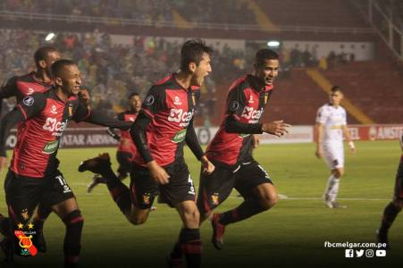 FBC MELGAR 2 - CARACAS FC 0 (4)
