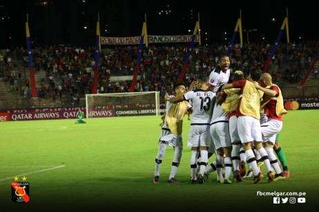 FBC MELGAR ELIMINA A CARACAS FC EN VENEZUELA (11)