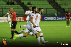 FBC MELGAR ELIMINA A CARACAS FC EN VENEZUELA (15)