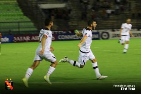 FBC MELGAR ELIMINA A CARACAS FC EN VENEZUELA (16)