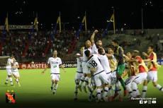FBC MELGAR ELIMINA A CARACAS FC EN VENEZUELA (17)