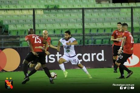 FBC MELGAR ELIMINA A CARACAS FC EN VENEZUELA (22)