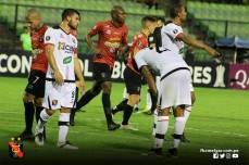 FBC MELGAR ELIMINA A CARACAS FC EN VENEZUELA (8)